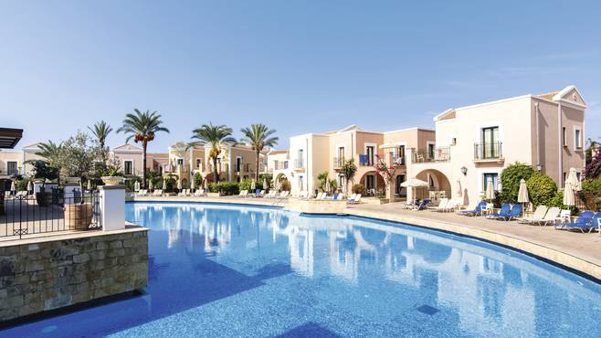 The Aliathon  Holiday Village Hotel Wheelchair & Mobility Scooter friendly Hotels in Paphos